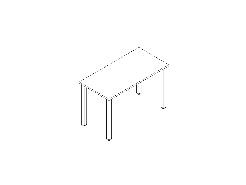 escritorio P-50 122x60
