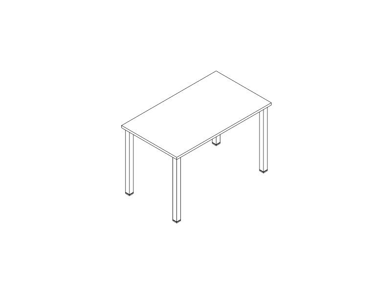escritorio P-50 122x70