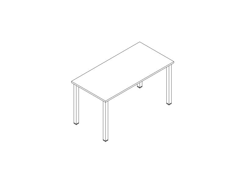 escritorio P-50 144x70
