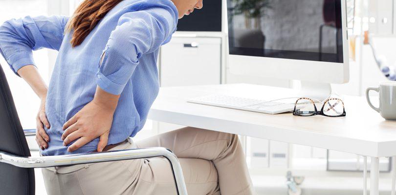 Dolor crónico de espalda en el trabajo
